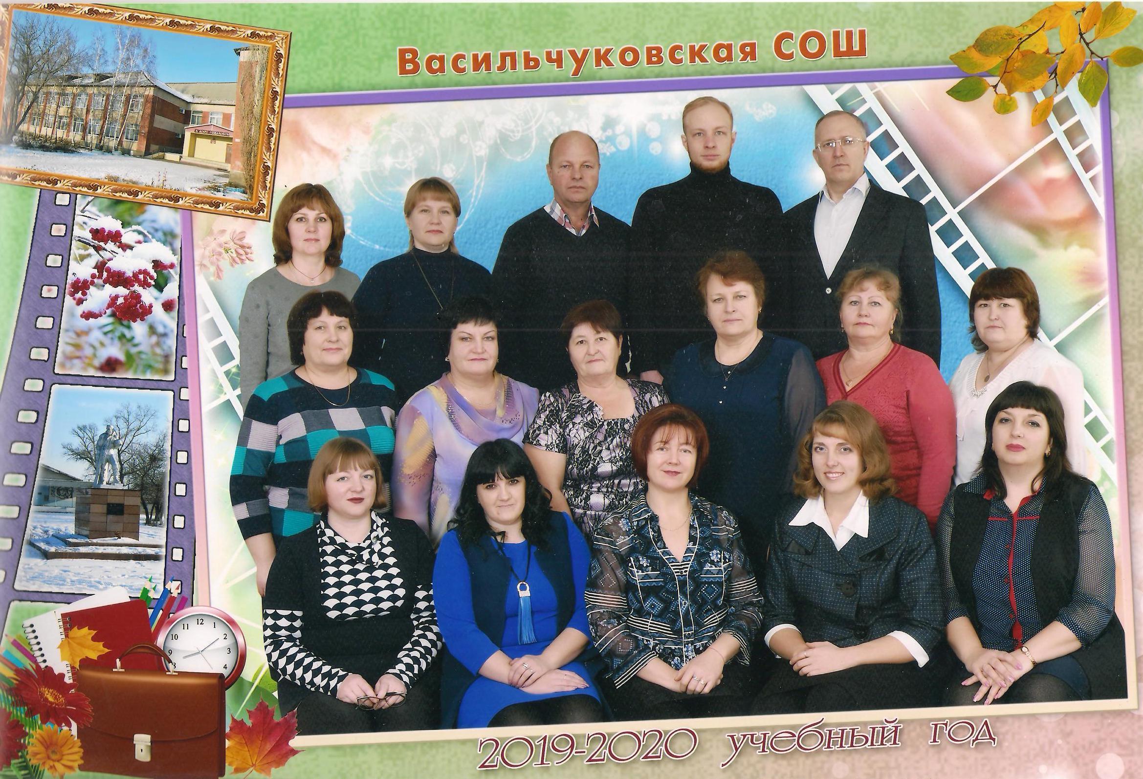 Школьная столовая Коллектив
